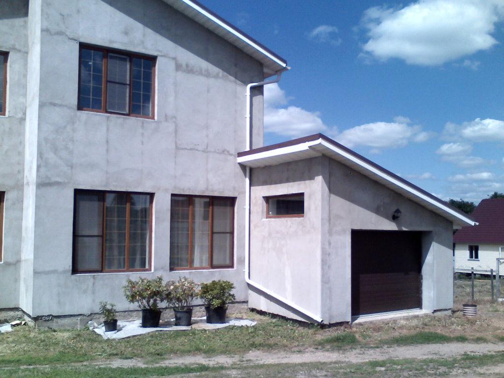 Реконструкция дома на Оке